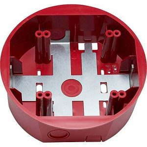 Ceiling Mount Surface Mount Back Box, Red