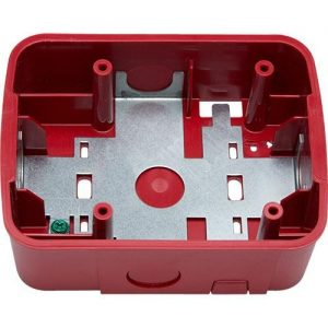 Wall Mount Speaker Surface Mount Back Box, Red