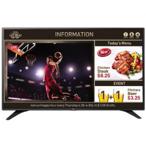 55inch FHD LED Edge / 400nit / Built-in Speakers and TV Tuner / NEW Content Manager / NEW Group Mana