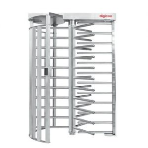 TX LIGHT FULL HEIGHT TURNSTILE SS 304 Stainless Steel finish; Indicated to outdoor applications;