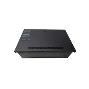 NFS Large Battery Backbox, houses up to two 55 AH batteries, black.