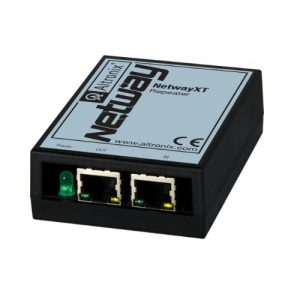 Repeater extends ethernet and PoE an additional 100m (328 ft.), UL/cUL Listed (UL60950-1).