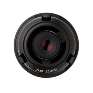 """1/2.8"""" 2MP CMOS with a 2.4mm fixed focal lens, FoV: H: 135.4?, V: 71.2? for the PNM-9320VQP"""