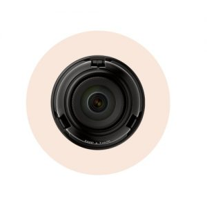 "1/1.8"" 5MP CMOS with a 3.7mm fixed focal lens, FoV: H: 97.5?, V: 71.9? for the PNM-9320VQP"