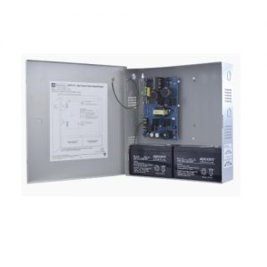 Power Supply/Charger - 12VDC or 24VDC @ 6 amp, encl. 13.5H x 13W x 3.25D, 115VAC input.
