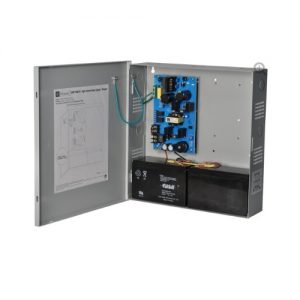 Power Supply/Charger - 12VDC or 24VDC @ 6 amp, AC & battery monitoring, encl. 13.5H x 13W x 3.2