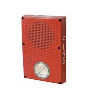 Outdoor Rated Wall/Ceiling Speaker/strobe (25/70V),